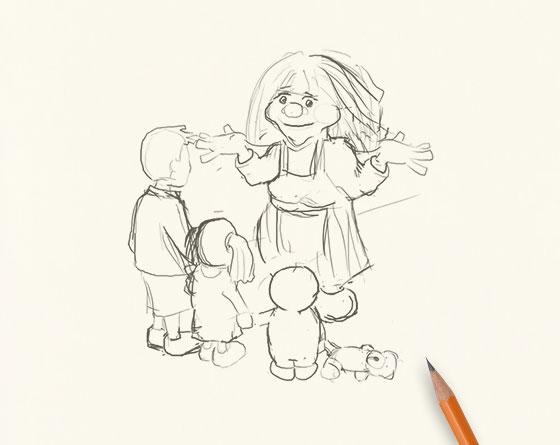 Dan Gould Sketch
