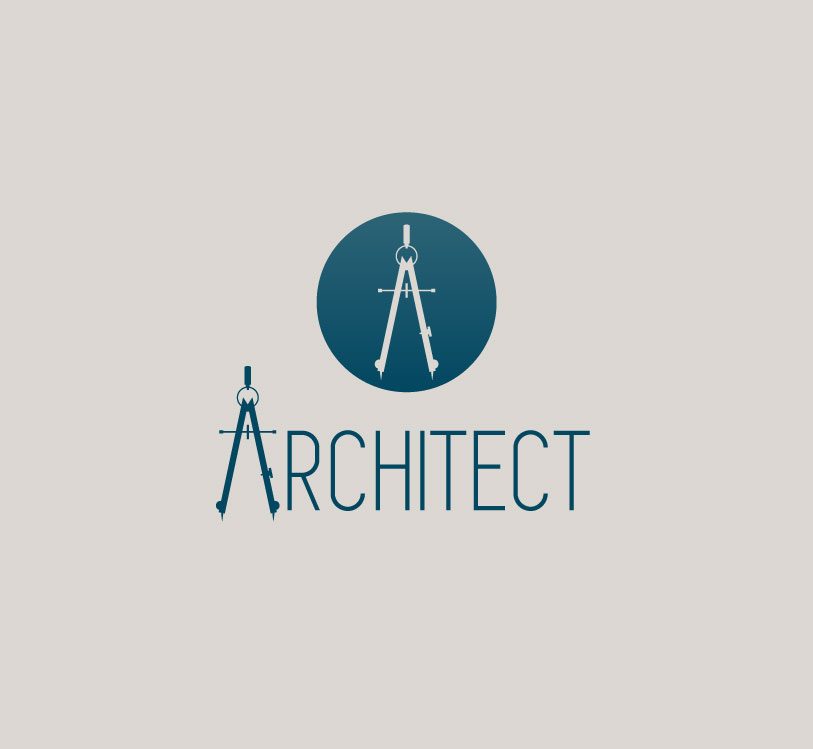 architect logo dan gould design On architecture logo