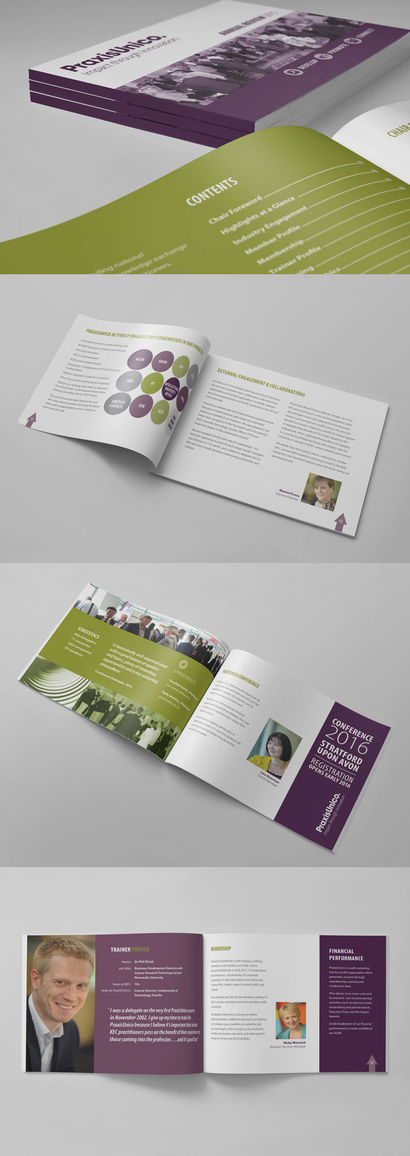 PraxisUnico Annual Review Spread