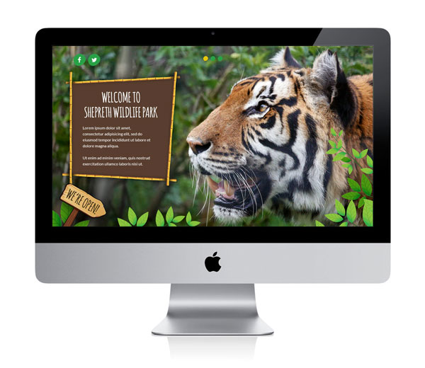 Shepreth Wildlife Park Website