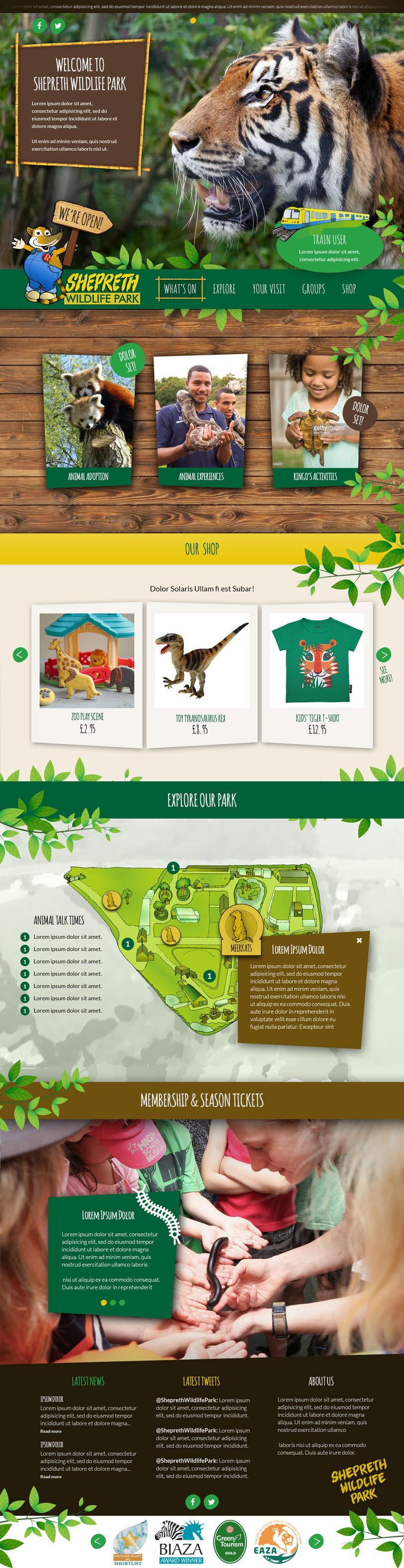 Shepreth Wildlife Park Website