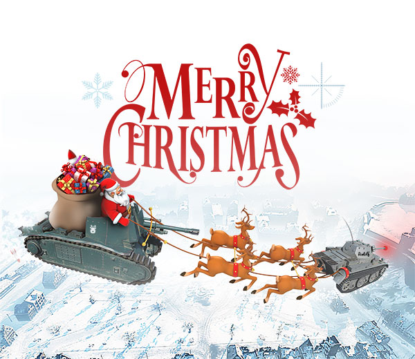 World of Tanks Christmas Card
