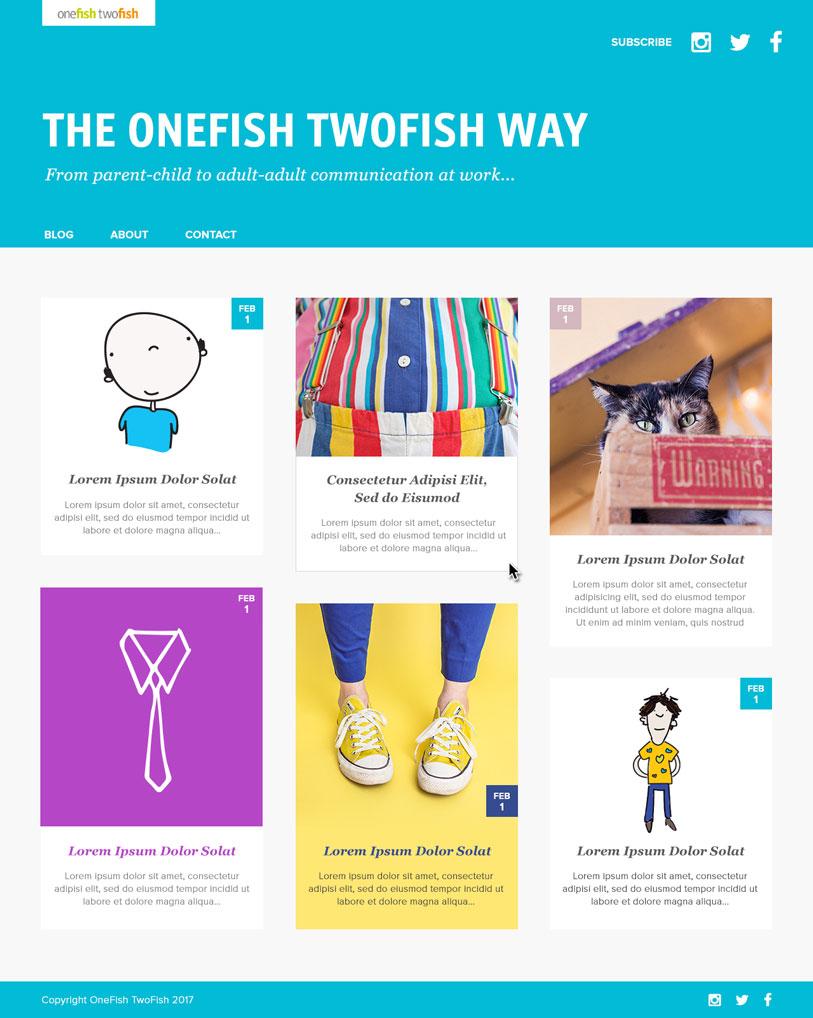 OneFish TwoFish Blog