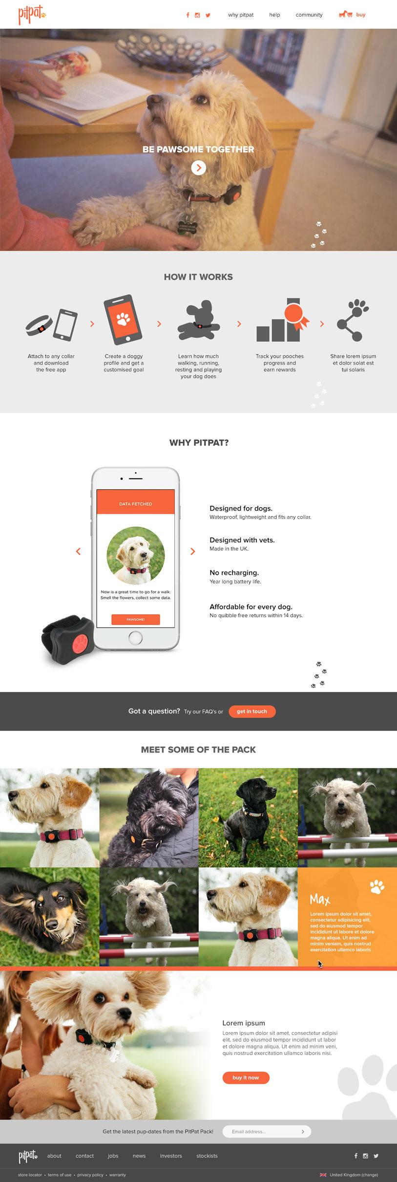 PitPat Website