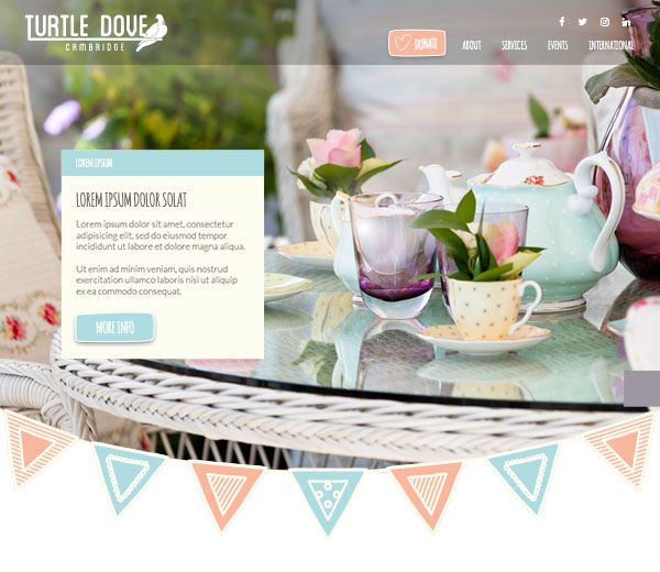 Turtle Dove Website